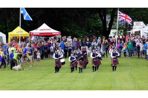 Kenmore Highland Games 2017 in rural Perthshire, Scotland ...