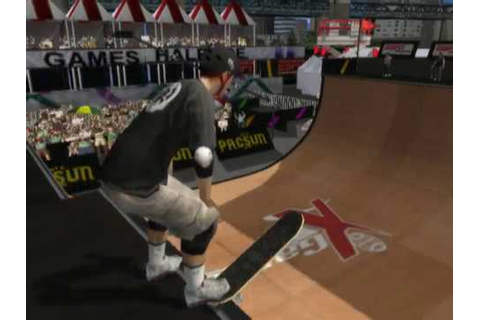 ESPN X Games Skateboarding (PS2 Gameplay) - YouTube
