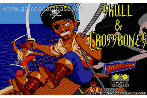 Skull & Crossbones - Atari ST - Games Database