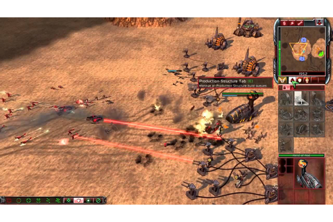 Command & Conquer 3 Tiberium Wars - Brutal AI Skirmish ...