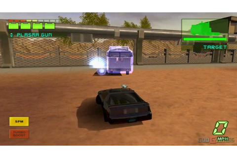 Knight Rider: The Game 2 - Gameplay PS2 HD 720P - YouTube