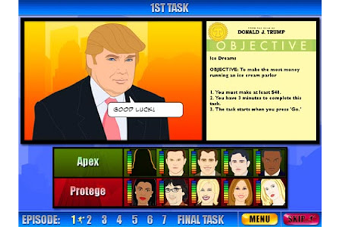 "Game: Donald Trump's ""The Apprentice"""