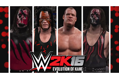 WWE 2K16 - Kane Entrance Evolution! ( Smackdown Know your ...