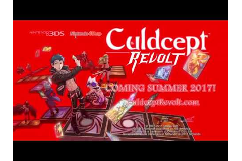 Culdcept Revolt - Overview Trailer for Nintendo 3DS - YouTube