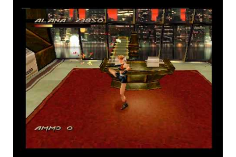 Fighting Force (PlayStation) - Stage 5 (game over) (2 ...