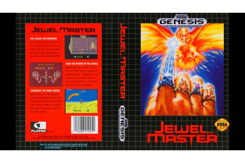 [SEGA Genesis Music] Jewel Master - Full Original ...