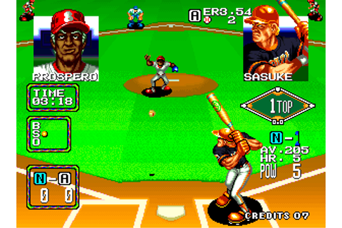 Play Baseball Stars 2 SNK NEO GEO online | Play retro ...