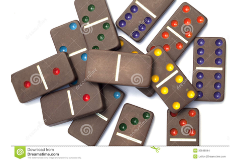 Dominoes Game Isolated Stock Images - Image: 32848044