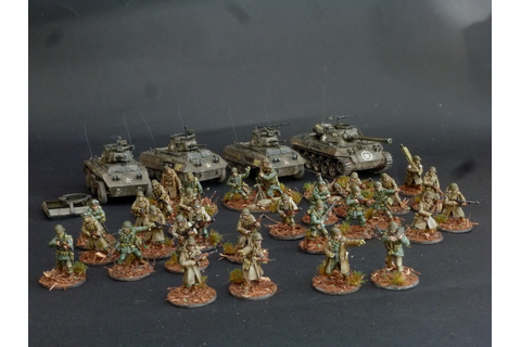 Volley Fire Painting : Warlord Games M8/M20Greyhound review