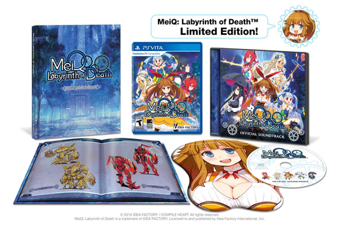 MeiQ: Labyrinth of Death Limited Edition Focuses on ...