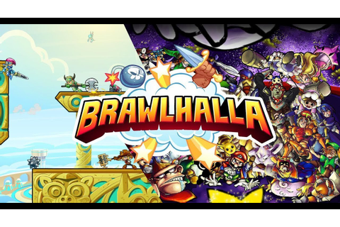 Brawlhalla tuto et game - YouTube