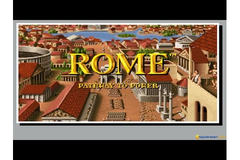 Rome: Pathway to Power gameplay (PC Game, 1992) - YouTube