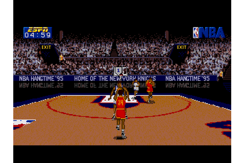 ESPN NBA Hangtime '95 (1994) by Sony Mega-CD game