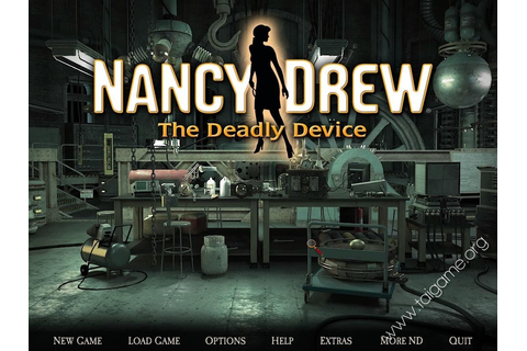 Nancy Drew: The Deadly Device - Download Free Full Games ...