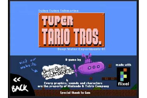 Let's Play Tuper Tario Tros #1 - YouTube