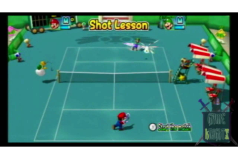 Mario Power Tennis: New Play Control (Gc/Wii) Game Review ...
