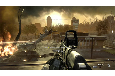Call Of Duty Modern warfare 2- Mission 6: Wolverines ...