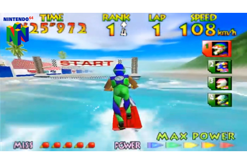 Wave Race 64 (Nintendo 64 Gameplay) - YouTube