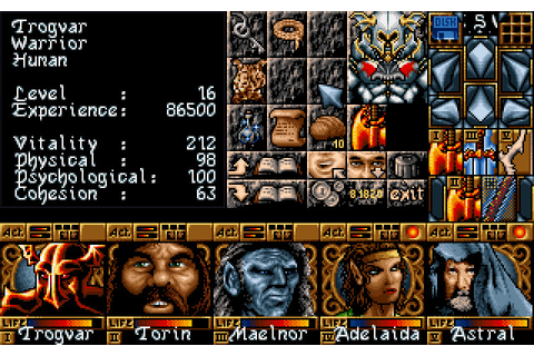 Ishar 3: The Seven Gates of Infinity (1994 - DOS). Ссылки ...