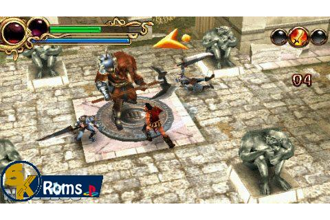 Hero of Sparta (USA) PSP ISO Free Download