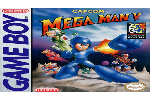 Mega Man V [Game Boy] [100% Walkthrough] [HD+] - YouTube