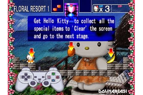 Game for Girl Hello Kitty Cube Frenzy PS1 - Download Game PS1 PSP Roms ...