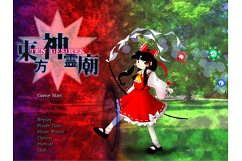 Touhou 13 Shinreibyou ~ Ten Desires Announced! | Journey ...