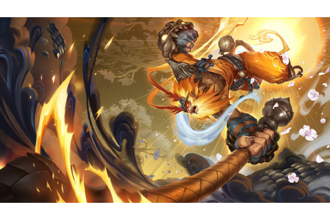 Skin Wukong Radieux - League of Legends - YouTube