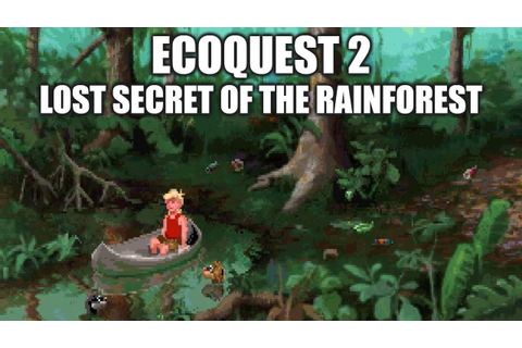 ECOQUEST 2 Adventure Game Gameplay Walkthrough - No ...