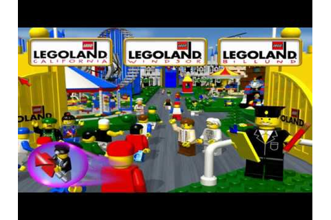 LEGOLAND game: real world Legoland cutscenes - YouTube