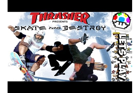 Thrasher: Skate & Destroy - Smooth Tricks Bruh - YouTube