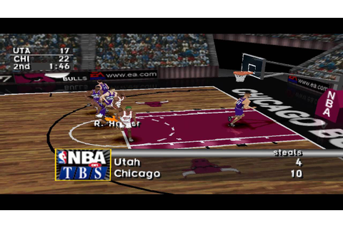 NBA Live 97 PS1 Gameplay HD - YouTube