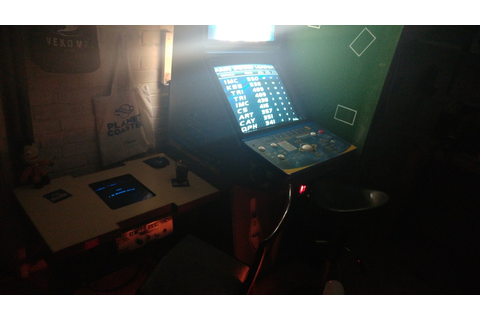 Space Fever Cocktail Project - UK-VAC : UK Video Arcade ...