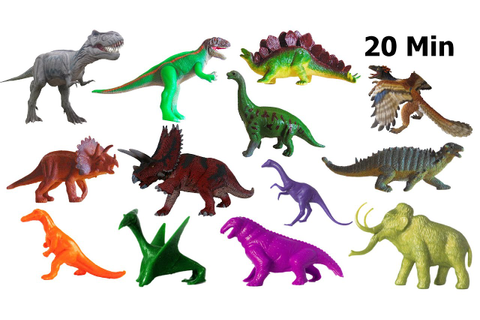 Dinosaurs Collection - Counting, Colors, Jurassic ...