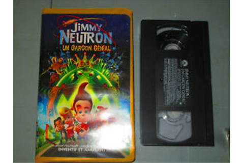 Jimmy Neutron: Un Garcon Genial/ Boy Genius (VHS)(French ...