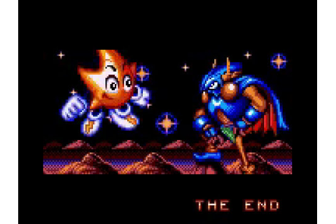 Ristar the Shooting Star (Game Gear) - Ending - YouTube