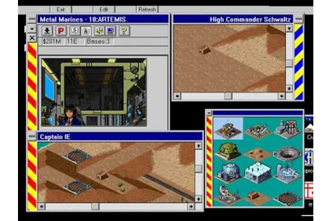 IE 9 PC games review - Metal Marines (1994) - YouTube