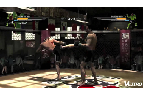 Supremacy MMA Gameplay PS3 - YouTube