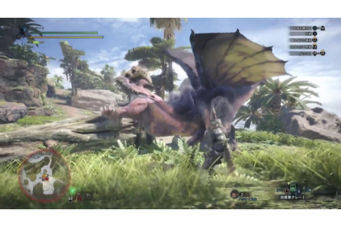 Monster Hunter World - Gameplay from 20 June Capcom Stream ...