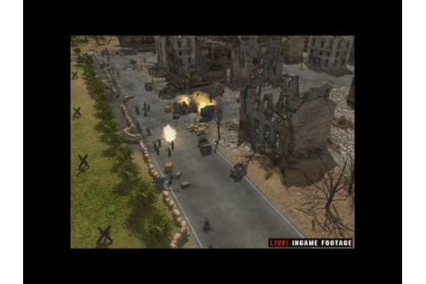 Codename: Panzers, Phase One PC Games Gameplay - YouTube