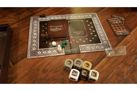 Review: Outlander Destiny Dice Game | Outlander TV News