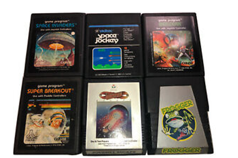 Atari 2600 games lot: Space Invaders Frogger Journey Space ...