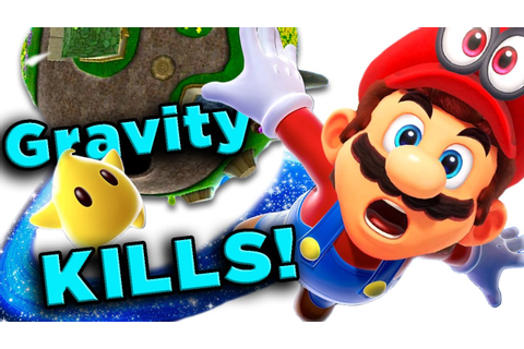 Super Mario Galaxy's DEADLY Physics! | The Game Theorists ...