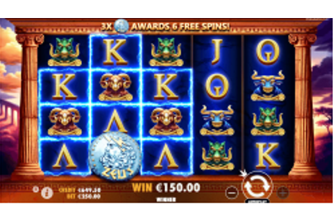 Hercules Son Of Zeus slot: Play with $1000 Free Bonus ...