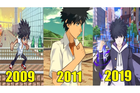 Evolution of A Certain Magical Index Games (2009-2019) とある ...