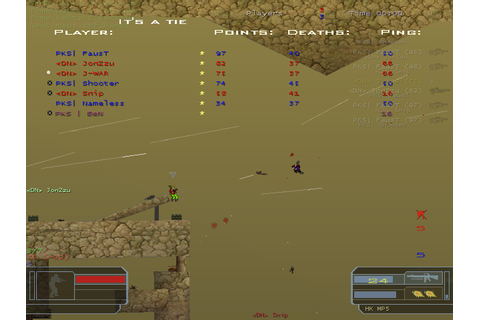 Soldat (2d multiplayer shareware shooter) - Tripwire ...