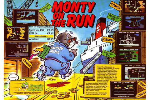 Monty on the Run - World of Spectrum