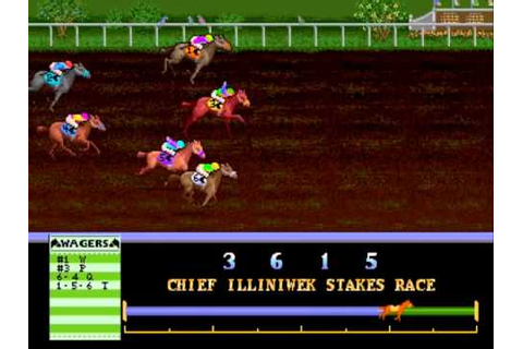 Arlington Horse Racing v1.21-D MAME Gameplay video ...