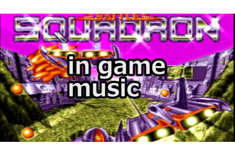 Battle Squadron - In The Game Music - YouTube