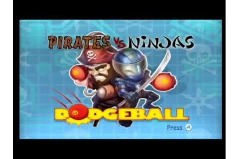 Clearance Rack : Pirates vs. Ninjas Dodgeball part 1 - YouTube